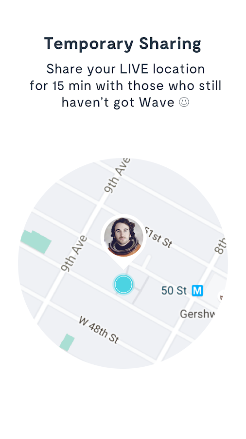 Wave Let's Meet App - Find Your Friends- screenshot