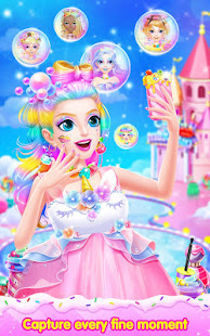 Sweet Princess Candy Makeup