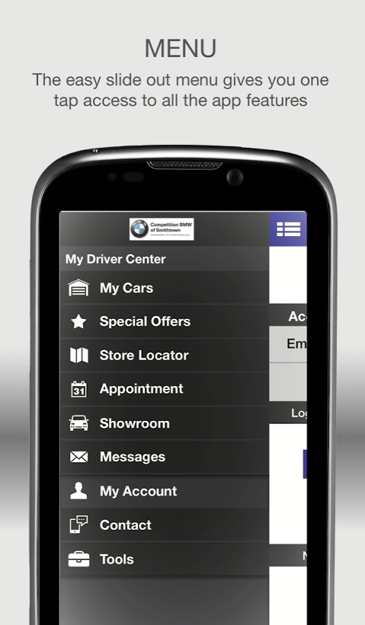 BMW App By Competition BMW- screenshot