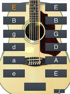 12 String Guitar Tuner Simple Screenshot Thumbnail