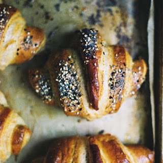 Tartine Croissants with Rye and Seeds Recipe