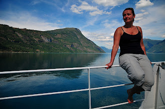 Photo: Ferry to Urnes