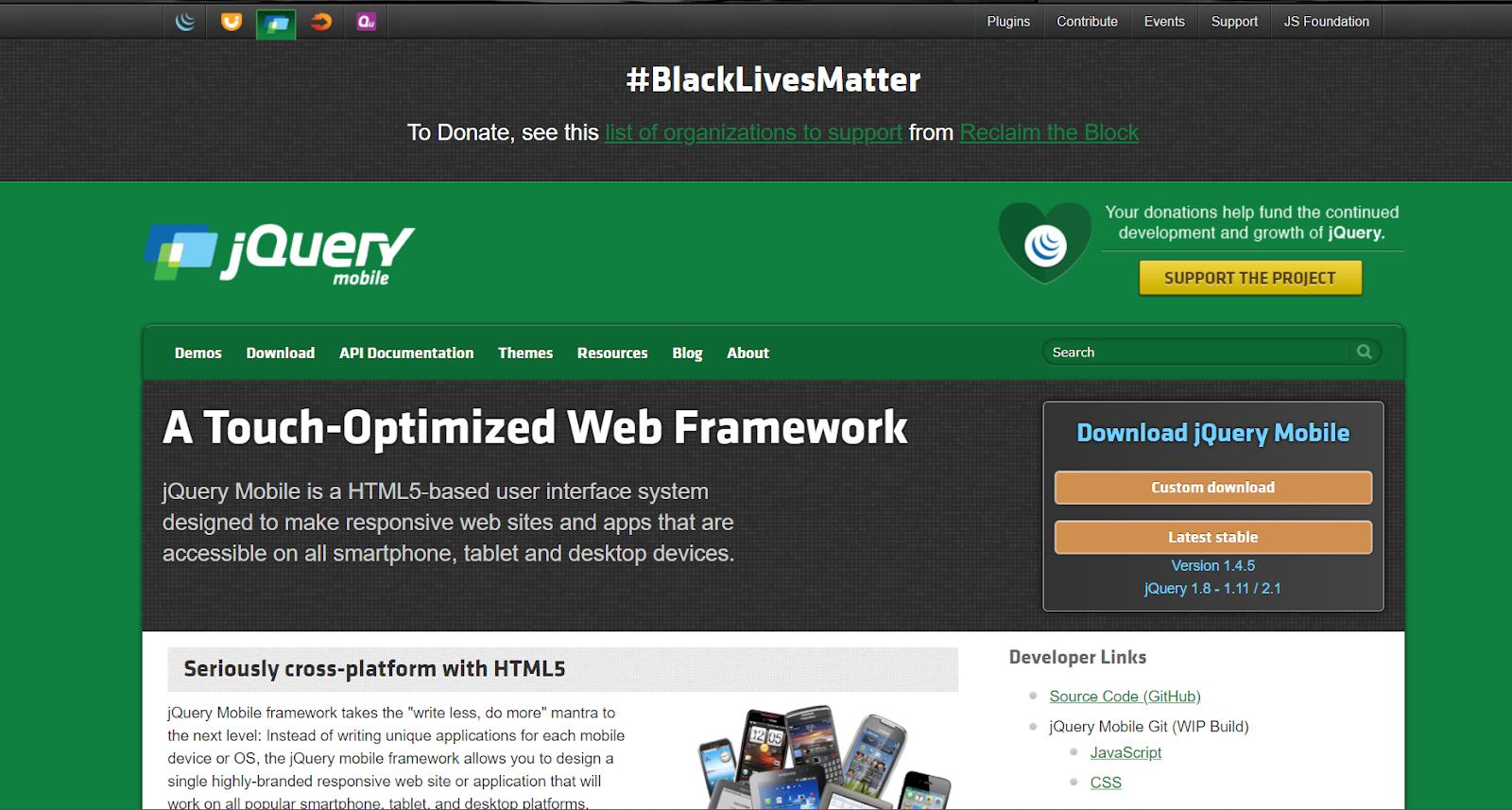 jQuery HTML5 Mobile App Development