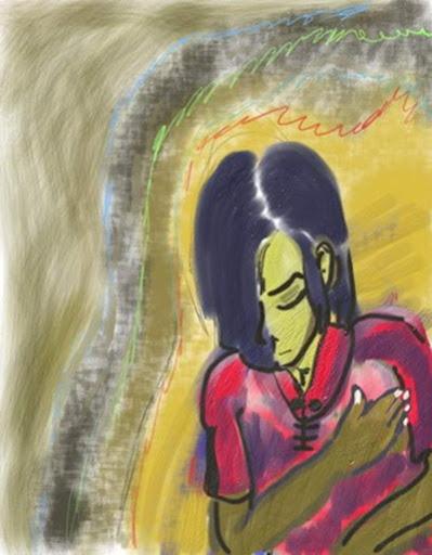 contemplate by panji nushantara