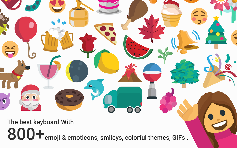 Gmail themes halloween - Halloween Emoji Keyboard Theme Screenshot
