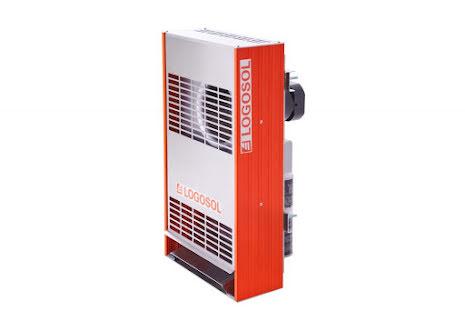 Virkestork Sauno-torkaggregatet 2 kW .