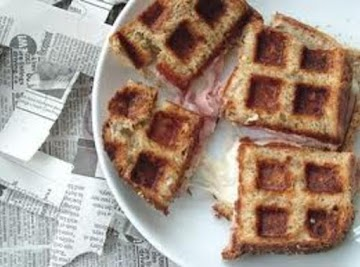 French Toasted Ham & Cheese Recipe