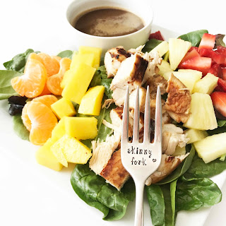 Tropical Chicken Salad & Honey Balsamic Vinaigrette Recipe