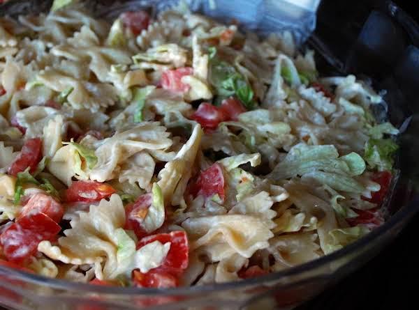 Blt Bow-tie Pasta Salad Recipe