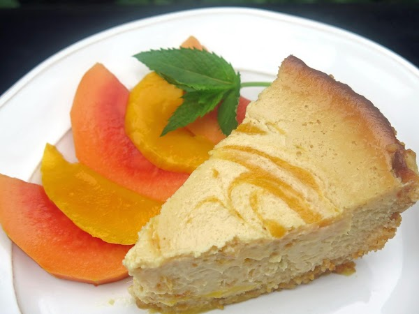 Mango-swirl Key Lime Pie In Coco-macadamia Crust Recipe