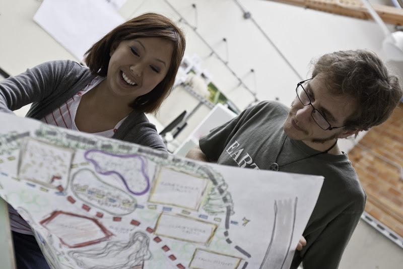 Photo: Landscape Architecture students