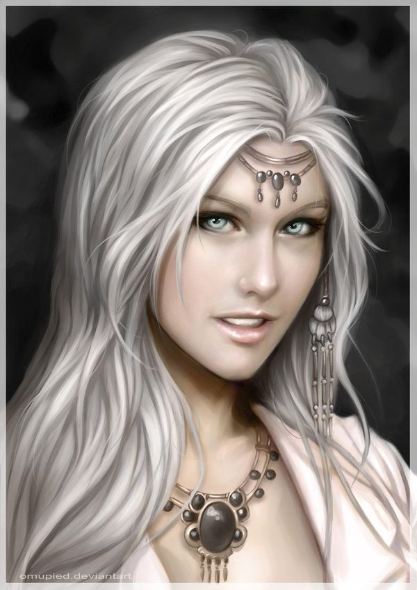 Image result for silver haired female characters