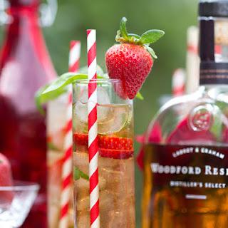 Strawberry Basil Juleps.