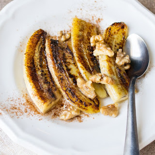 Caramelized Bananas with Ghee and Cinnamon.