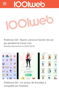 1001Web, La référence Geek- screenshot thumbnail
