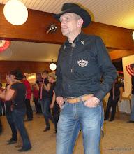 Photo: harald und ich waren die einzigen renegade linedancer in allhaming...