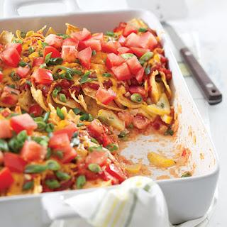Cheesy Squash Enchiladas