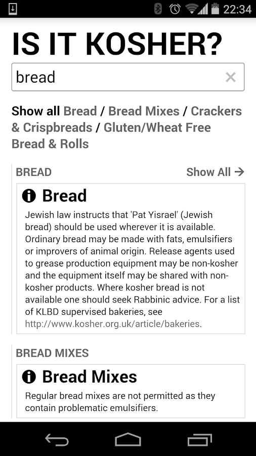 IS IT KOSHER? UK- screenshot