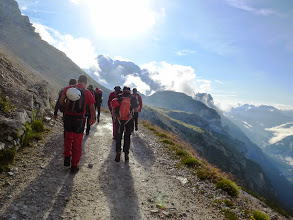 Photo: In direzione del Rifugio Lavaredo