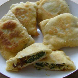 Spinach, Sultana and Bulgur Wheat Borek's