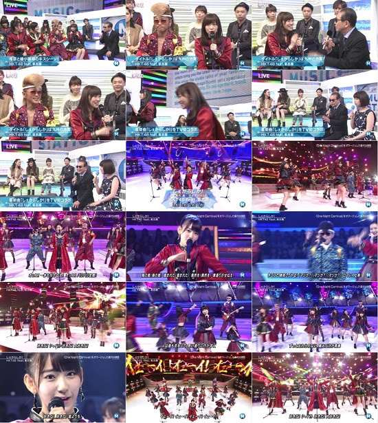 (TV-Music)(1080i) HKT48 Part – Music Station 151120