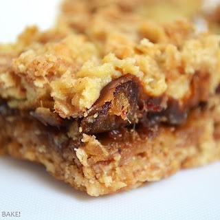 Caramel Date Oat Bars.