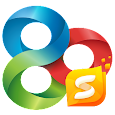 GO Launcher S – 3D Theme, Wallpaper & Sticker apk