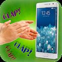 applaudir et trouver téléphone icon
