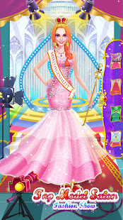 Game 👩👠Top Model Salon - Beauty Contest Makeover APK for Windows Phone