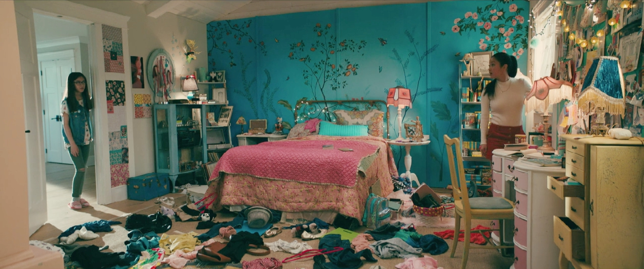 chambre à coucher dans To all the boys i've loved before