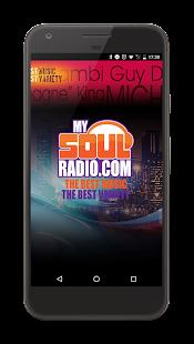 MySoulRadio - náhled