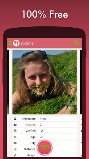 Free Dating App - YoCutie - Flirt, Chat & Meet Screenshot