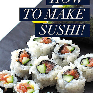 How To Make Sushi!.