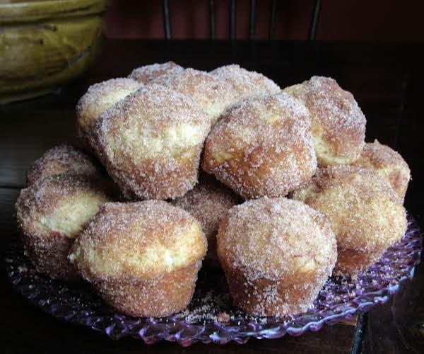 Baked Apple Doughnut Holes Recipe