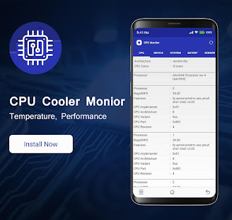 App CPU Monitor - Temperature, System Monitor APK for Windows Phone