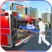 Ambulance Rescue Mission: City Traffic Drive Game