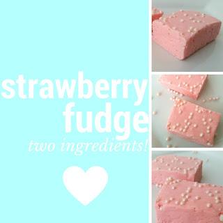 Strawberry Fudge.