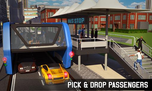 Elevated Bus Simulator: Futuristic City Bus Games 2.4 screenshots 5