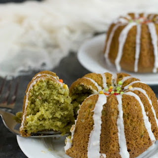 Gluten Free Matcha Cake.