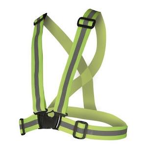 Bretele elastice fluorescente