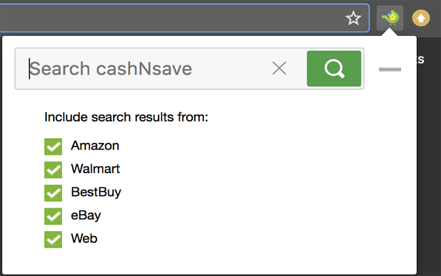 cashNsave Search