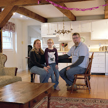 Photo: title: Sean, Laura + Lily Ellia, South Hadley, Massachusetts date: 2016 relationship: friends, art, met at Hampshire College years known: Sean 25-30; Laura 0-5