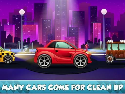 Télécharger Enfants Car Wash Salon et service Garage APK MOD (Astuce) screenshots 3