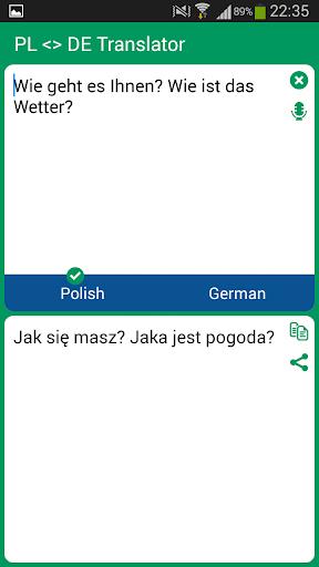 Polish German Translator