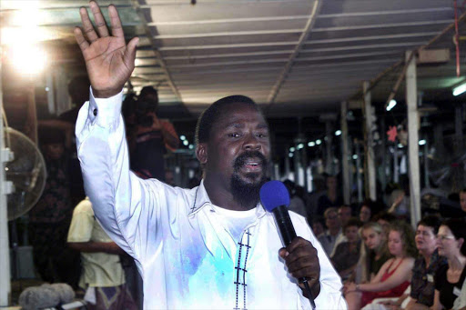 Prophet TB Joshua, founder of The Synagogue, Church of All Nations.