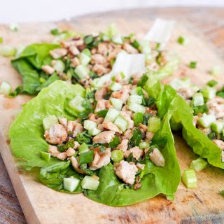 Asian Chicken Lettuce Wraps {Gluten-Free, Dairy-Free}