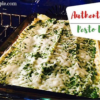 Authentic Italian Pesto Lasagna | Taste Of Italy Month