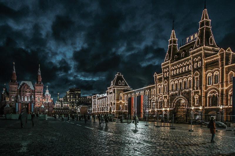 Notte in Piazza Rossa di Dan57