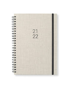 Kalender 2021-22 Newport vecka/notes Warm Linen