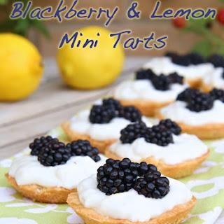 Blackberry & Lemon Mini Tarts (Low-Carb, Paleo) Recipe